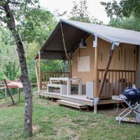 Lodge tent at San Marino