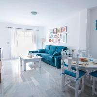 Luminoso y fresco apartamento en 2ª línea de playa