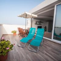 Luxurious penthouse - two terraces & sea-view