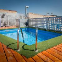 H2M 2 bedroom flat & share pool in center