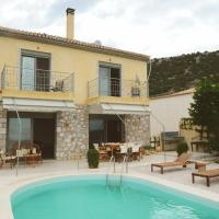 Mary's Villa with an amazing sea & sunset view, swimming pool