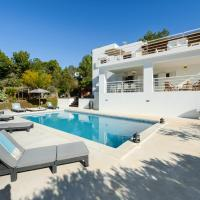 Cala Tarida Villa Sleeps 10 Pool Air Con WiFi