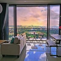 Dreamcity apartment, guarded, lakeview, quiet, family suite