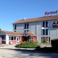 Kyriad Dijon Sud - Longvic, hotel near Dijon Bourgogne Airport - DIJ, Longvic