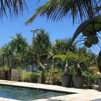 Bras-Panon: Maison avec vue et piscine 1-4 pers.
