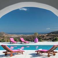 Kostos Villa Sleeps 10 Pool