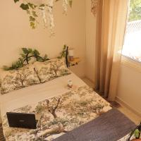 Bungalow with fruit garden close to the beach