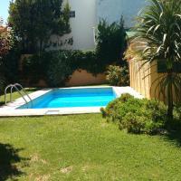 Cabaña EL CHULENGO, totalmente equipada con parque y piscina