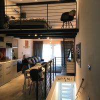 Grey apartment Zagreb