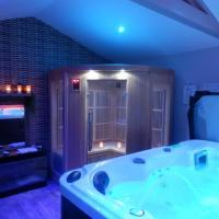 Suite luxe avec sauna et jacuzzi privée