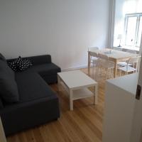 Central Københavner lejlighed til 3 personer