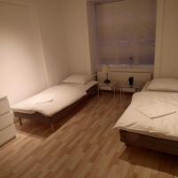 Central lejlighed i stueplan til 6 gæster