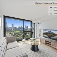Luxurious Harbour Bridge and Opera House Views apt