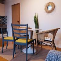 Stylish apartment with sauna