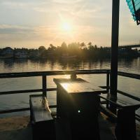 Panorama Sunset River View by River House @Wat-Yai