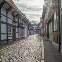 Leseinsel in Goslar