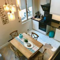 Duplex artist studio converted into a loft