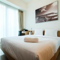 Homey Studio Room Tree Park Apartment By Travelio