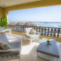 Al Hamra Marina Apartment with Lagoon view
