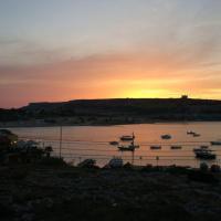 Amazing view of Ghadira Mellieha bay