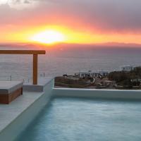 VILLA ATHENA- Private Pool- Amazing Aegean View, hotel in Fanari