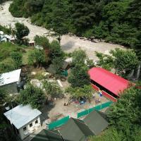 Camp The Parvati River Bank