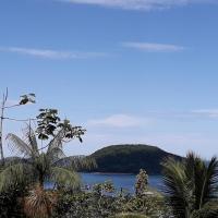 Terraço Gaia Prumirim, vista para o mar.