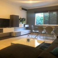 Luxury spacious apartment near the city center with free internet and parking