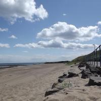 Bolt Hole by the beach on the Northumberland coast