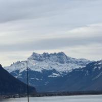 TOP Montreux Centre 2-8 p., view lake and Chillon Castle
