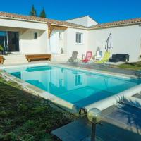 Peaceful Holiday Home in Lezignan-Corbieres with Pool