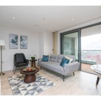 Modern and elegant 2BR flat with amazing views
