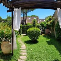 Villetta con giardino immersa nel verde a 150mt dal mare