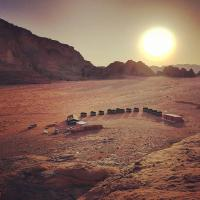Wadi Rum Sky Tours & Camp