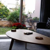 New apartmment with garden