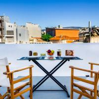 Charming Apartments with Acropolis view and Garden