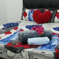 Bed & Breakfast for 6pax, 1km to Batu Pahat Town
