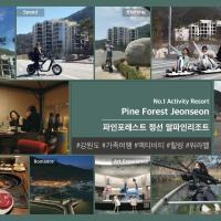 Pine Forest Jeongseon Alpine Resort, hotel in Jeongseon