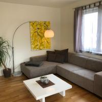 Design-Apartment mit Pool