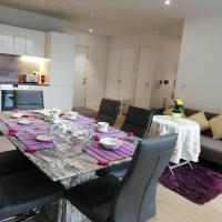 Luxury 2-bedroom 5-bed close to ExCeL O2 & City