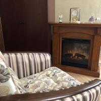 Nevsky Skver apartment with fireplace