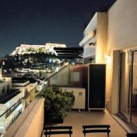 Luxurius loft apartment with spectacular Acropolis view