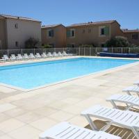 Gîte climatisé 2-4 personnes avec piscine chauffée sécurisée, situé dans une résidence vacances proche du centre du village de Mouriès à pieds, au cœur des Alpilles - LS1-335 CASCADO