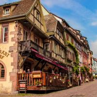 Hotel Au Cerf, hotel in Riquewihr