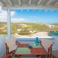 Superior Beachfront Apartment 1 with view to the Aegean Sea