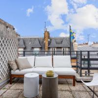 Superbe studio avec grande terrasse