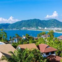 Patong Indigo cozy villa super sea view芭东五卧室无敌海景