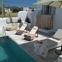 Naxian villa with private pool in Glinado