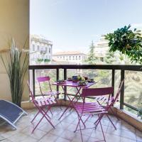 LE GRAND HOTEL -F2, FACE VIEUX- NICE, TERRASSE, ASCENSEUR, CLIMATISATION, Terrace - Nice city center