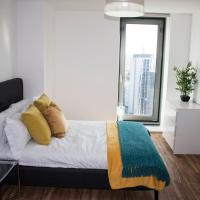Luxury 2 Bedroom + private bathroom @ MediaCity UK